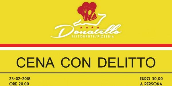 Cena con Delitto al Ristorante Donatello – Imola