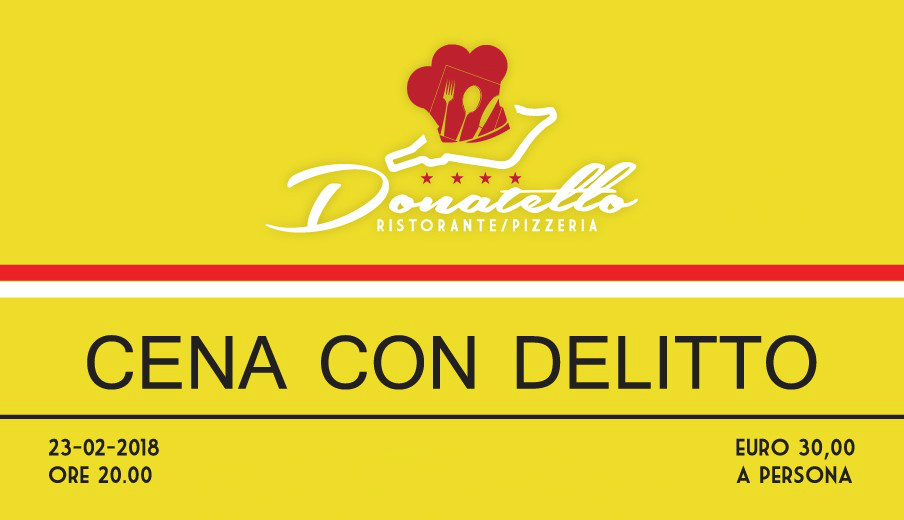 Cena con delitto Donatello
