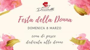 Copertina FB Festa della Donna - Hotel Donatello